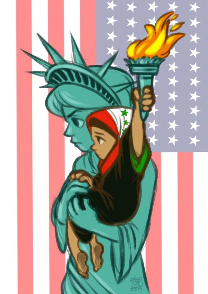 muslims-ban-cartoon