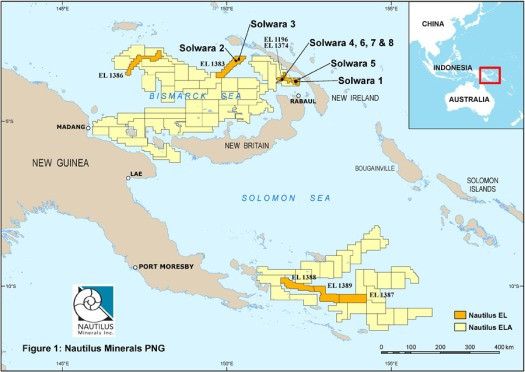 nautilus-minirals-solwara-1-project-location