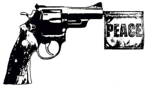 Image gun-peace